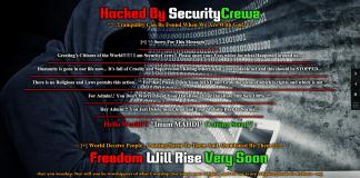 Over 440 Websites Hacked by the Hacktivist Group SecurityCrewz