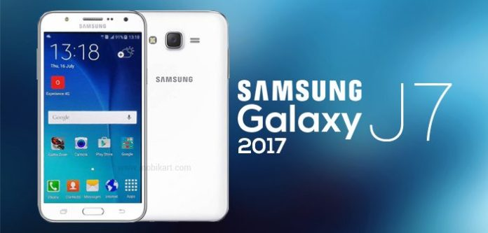 Samsung Galaxy J7 (2017) leaked by Evan Blass