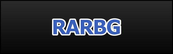 An image of the torrent website named RARBG.