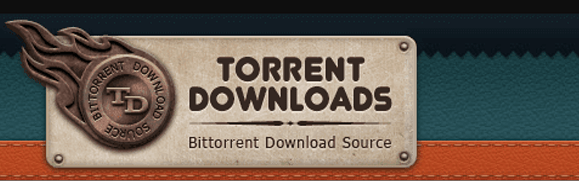 This is the official logo of the website named TorrentDownloads.