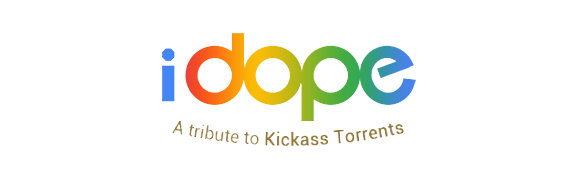The official logo of iDrope torrent download website.