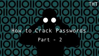 How to Crack Passwords