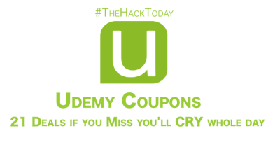 Photo of Udemy Coupons – 21 Deals if you Miss you'll CRY whole day
