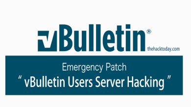 Photo of Emergency Patch – vBulletin Users Server Hacking