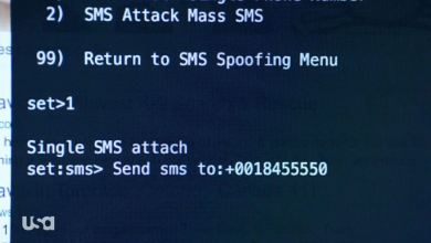 SMS Spoofing with Kali Linux