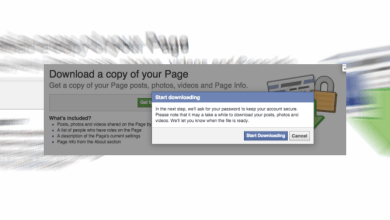 Photo of Backup your Facebook Page Setting, Information and Posts