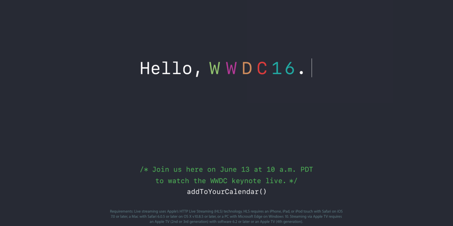 WWDC 2016: What to expect news and rumors?