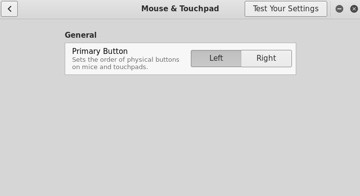Touchpad issues - tapping, reverse/natural scrolling; Kali Linux