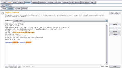 Photo of Dictionary Attack Website's Login Page using Burp Suite (Beginner Guide)