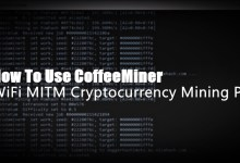 How To Use CoffeeMiner - WiFi MITM Cryptocurrency Mining Pool