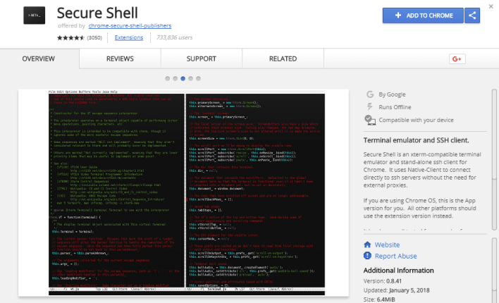 How To Use Google Chrome Browser to SSH into Remote Devices