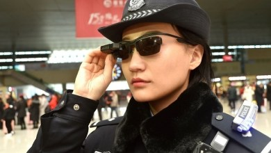 Photo of Police in China wear hi-tech facial recognition sunglasses to nab suspects