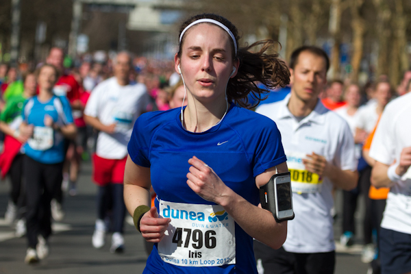 Home Straight Dunea 10K Run 2012