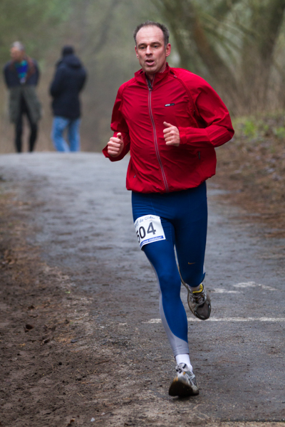 Runner - Oliebollencross - Haag Atletiek Club