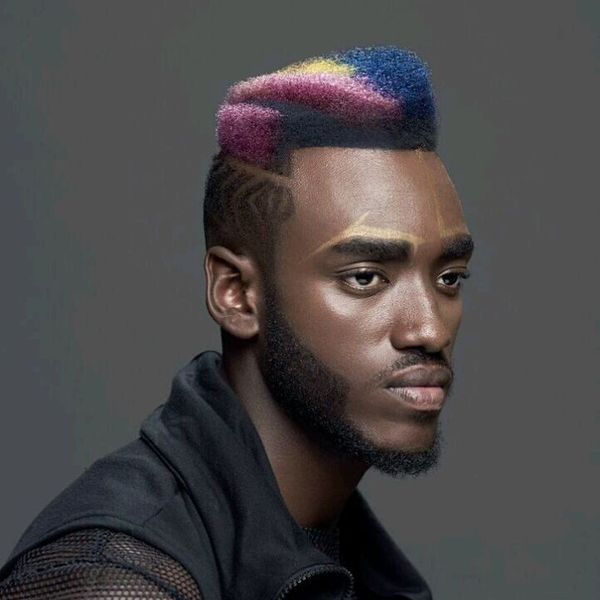 Ways to Style Black Male Hair 2