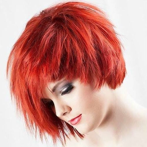 cascade red haircut