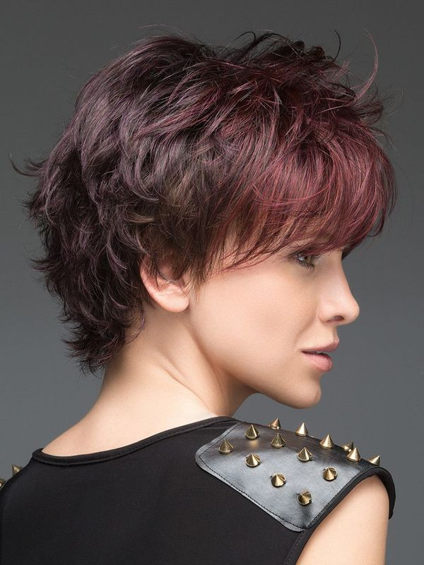 Best Short Hair Cuts with Choppy Bangs 4