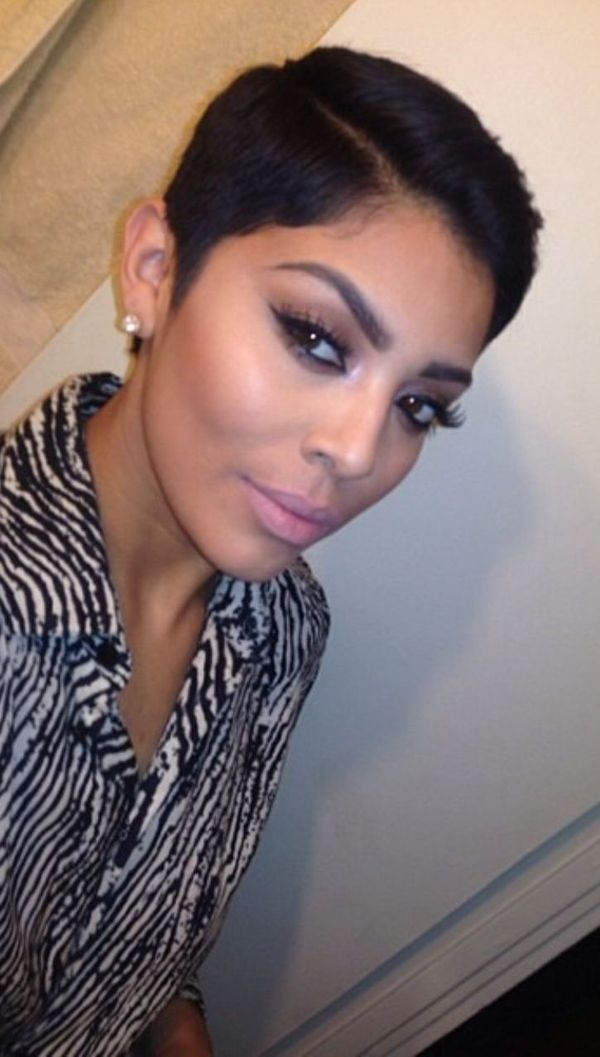 Cute short black hairstyles 2