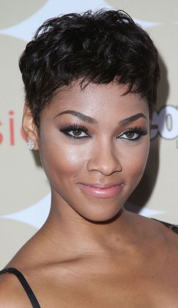 Great short pixie hairstyles for black hair 4