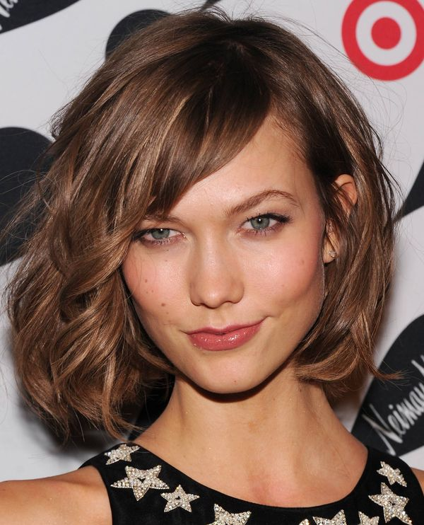 Medium to Short Hairstyles with Bangs 1