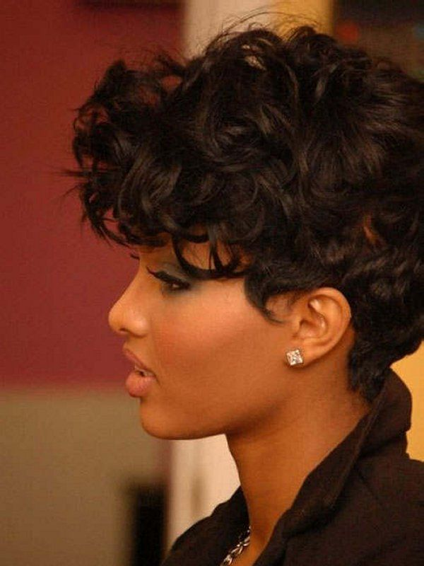 Quick hairstyles for short black hair 2