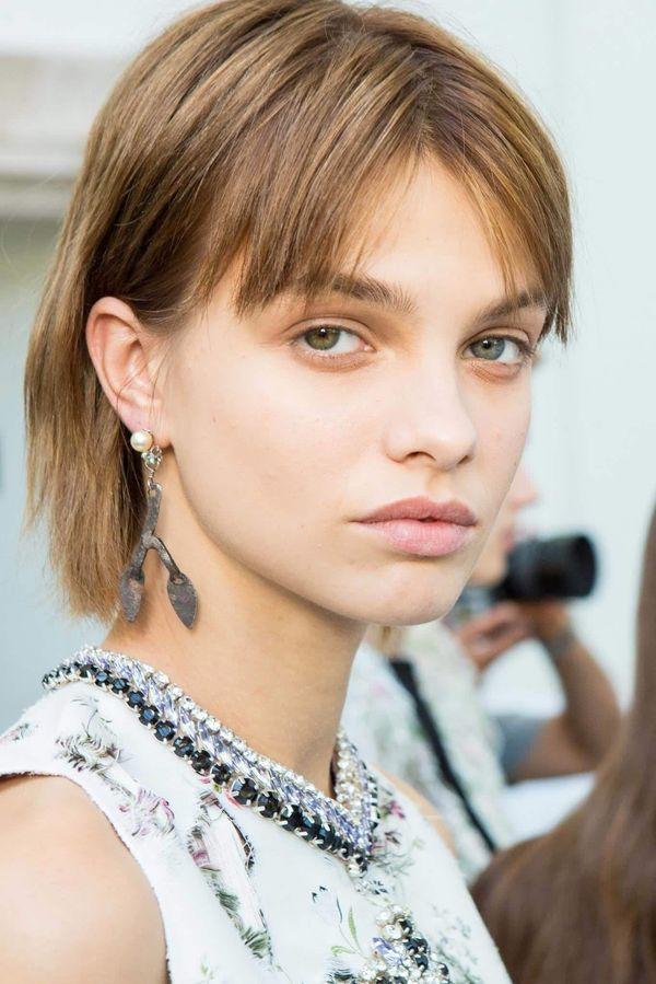 Really Cool Ideas of Short Hair and Short Bangs 1