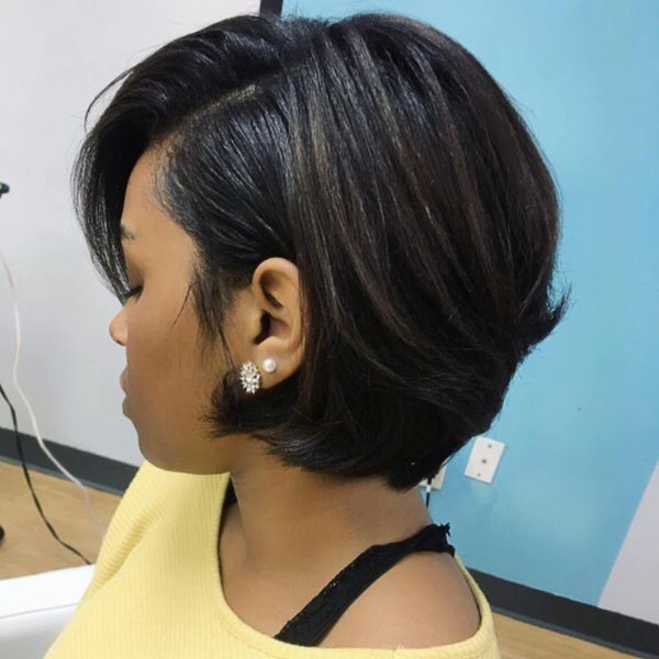 Stylish ideas of short hair for black women 4