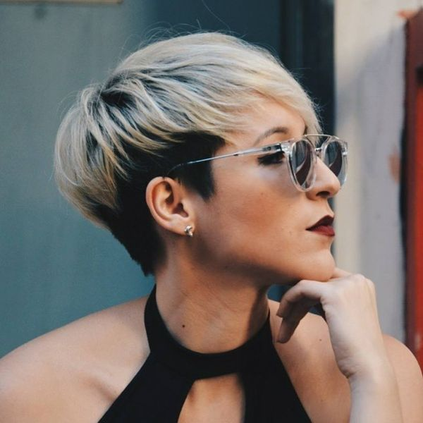 Trendy Short Pixie Cut with Bangs 1