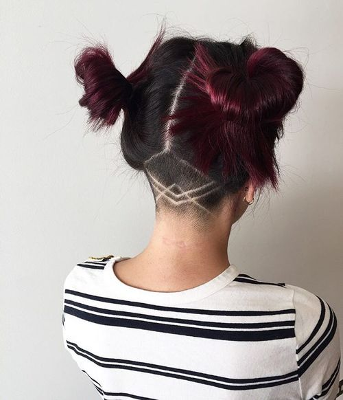 Top 40 Awesome Women's Undercut Hairstyle for Short Hair