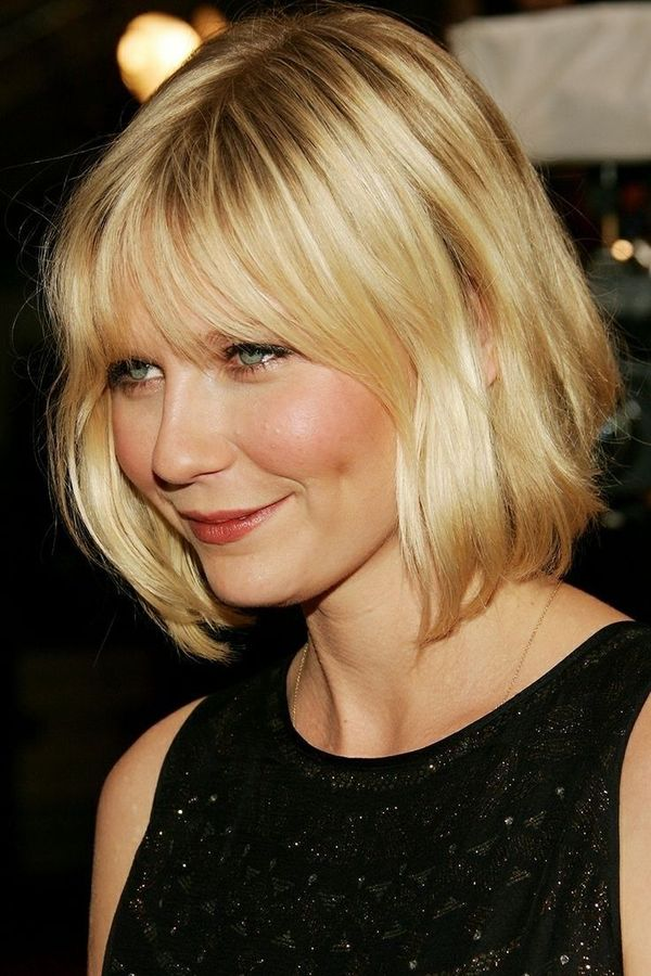 Ways to Style Short Hair with Bangs 4