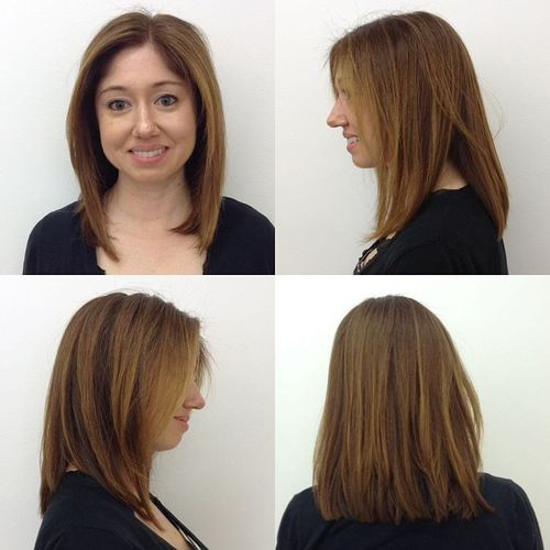 Long Bob Haircuts 2018 25 Long Layered Bob Hairstyles