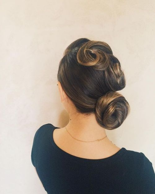 Updos for Medium Hair for Work