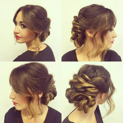 Updos for Medium Thick Hair