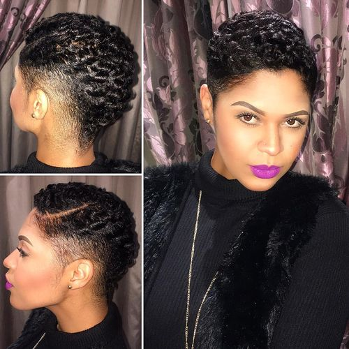 Low Cut Hairstyles For Black Females: 40 Mohawk Hairstyle Ideas For Black Women
