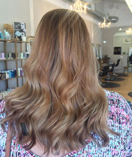 Ideas Of Dark Blonde Highlights In Brown Hair 1