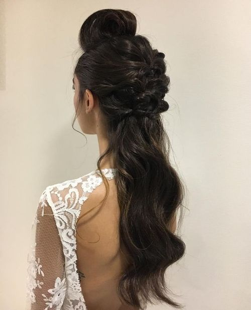 Ponytail Updos for Medium Hair