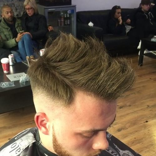 Amazing Faux Hawk