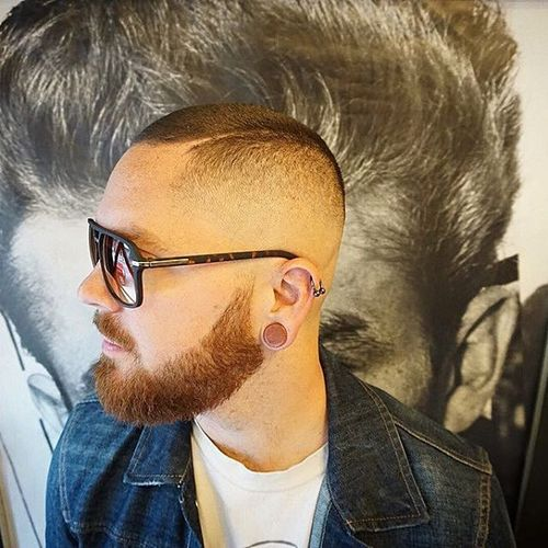 High and Tight Beard Style