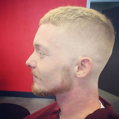 High and Tight with Chin Strap