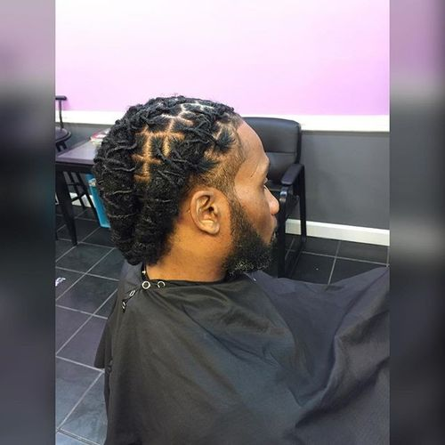 Braided Dreads Hairstyles For Black Men 1