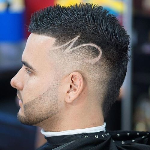 Fohawk With Freestyle Design