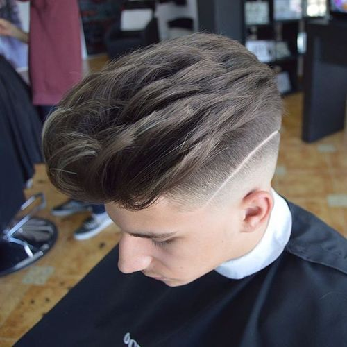 Thick Hair Option of Undercut