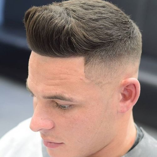 Short Thick Quiff Hairstyle