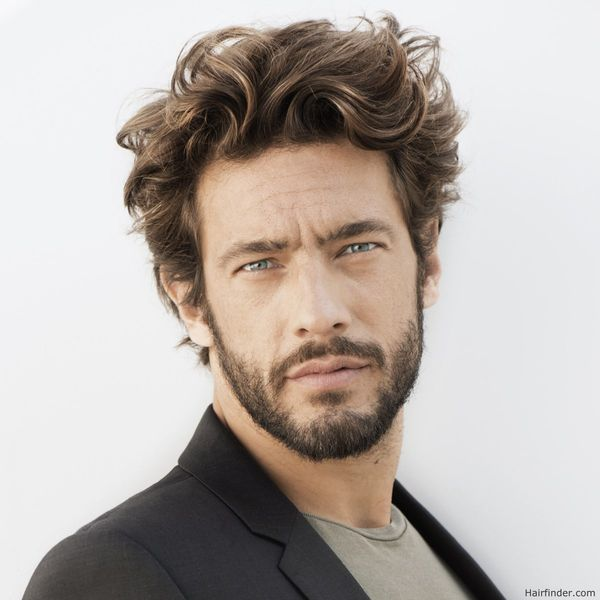 Mens Messy Hairstyles for Medium Hair 1