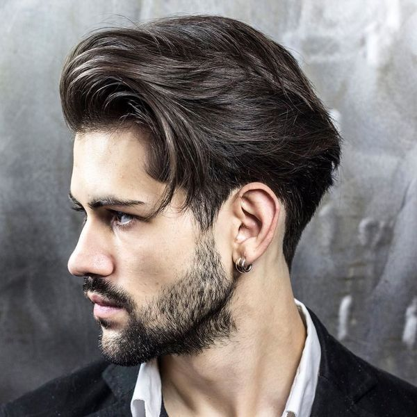 Modern Mens Messy Layered Haircuts 1