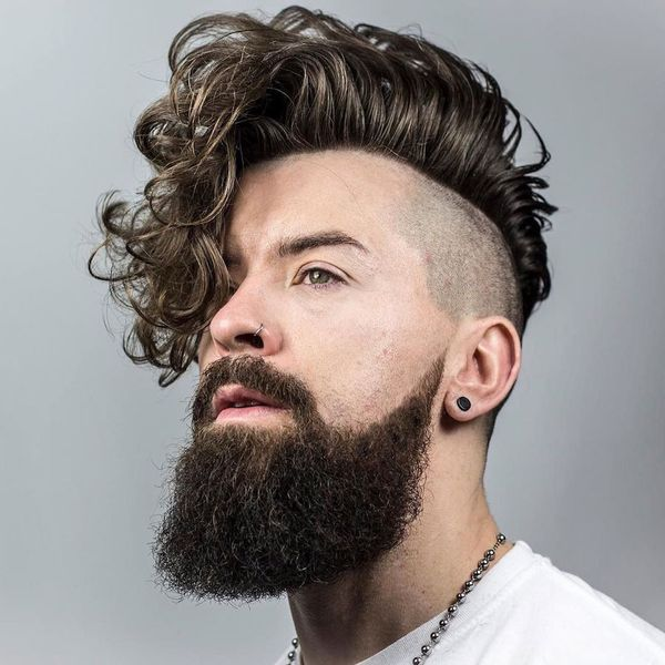 Awesome Short Sides Long Top Haircut Ideas for Guys 1