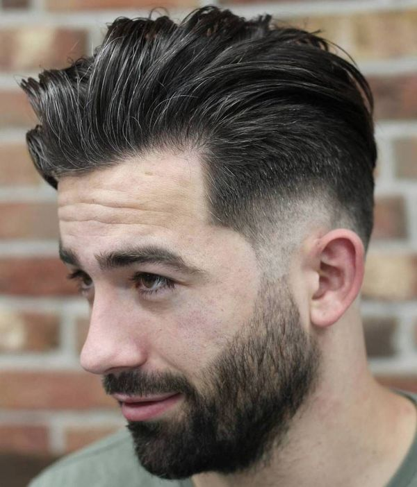 Best Short Sides Long Top Haircuts for Men (October 2019)