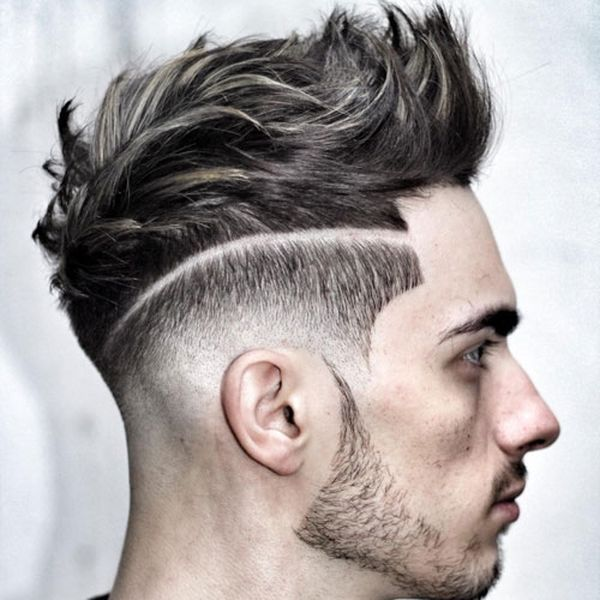 Cool Mens Hair Short on Sides Long on Top 3