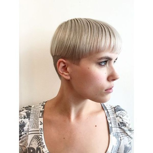 Cute undercut ideas for girls with short hair 1