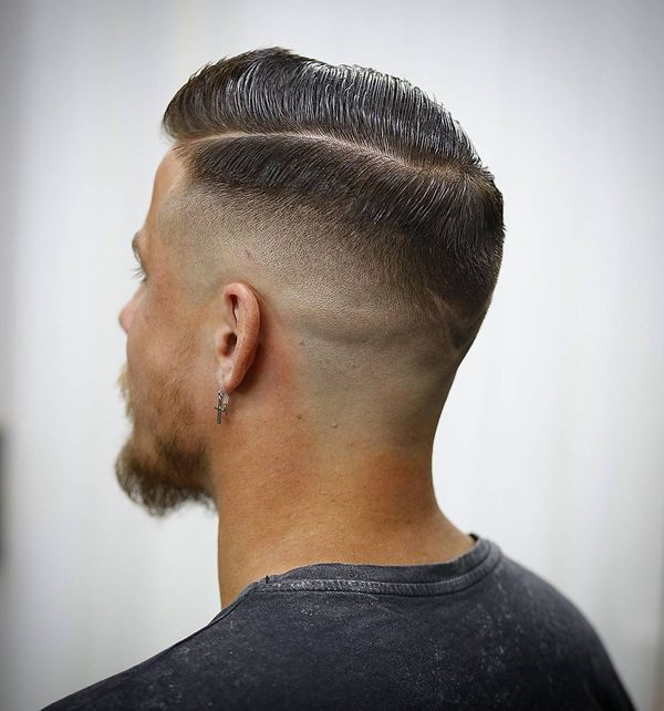 Eyecatching Long on Top Short on Sides Fade Haircut 2